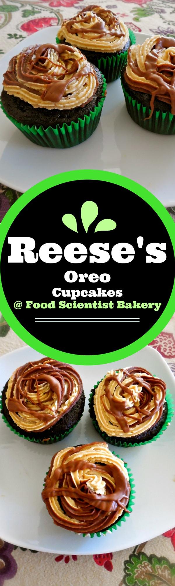 Reese's Oreo Cupcakes