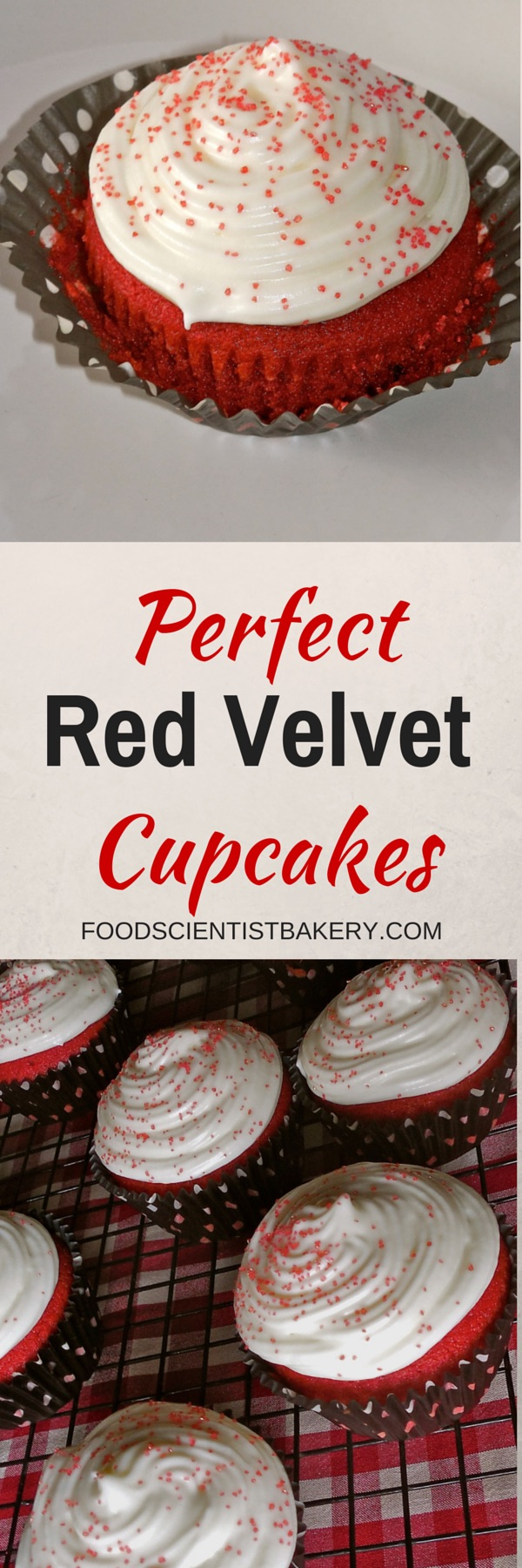 Perfect Red Velvet Cupcakes!