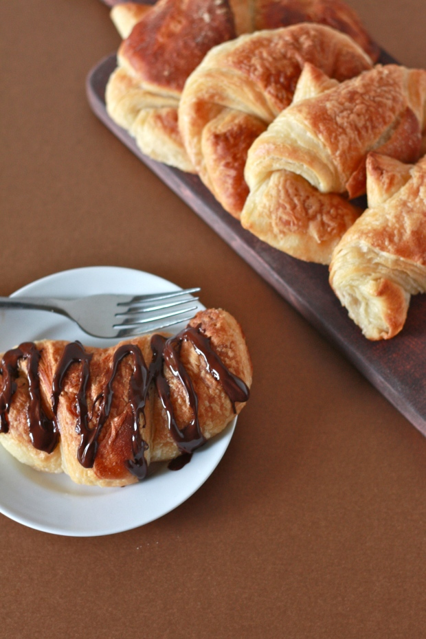 Fresh Croissants- so buttery, flaky, and insanely delicious!