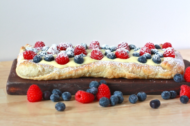 Berry Lemon Cheesecake Tart- a quick pastry that comes together in minutes is the perfect way to celebrate summer!