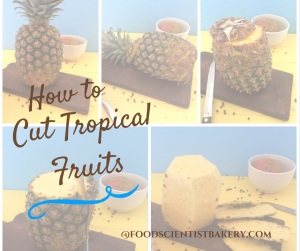 How to cut up tropical fruits