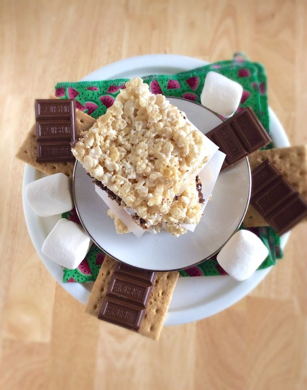 S'mores Rice Crispy Treats