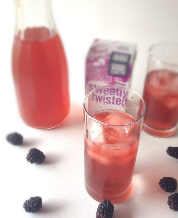 Blackberry Iced Tea