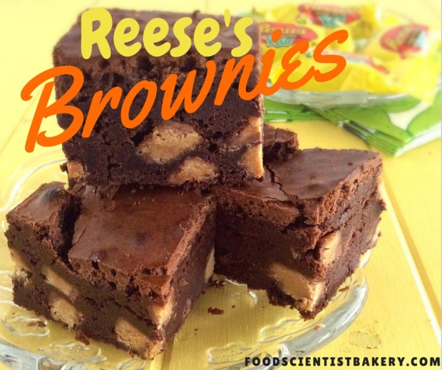 iReese's Cup Brownies- fudgy, thick brownies satisfy every chocolate craving!