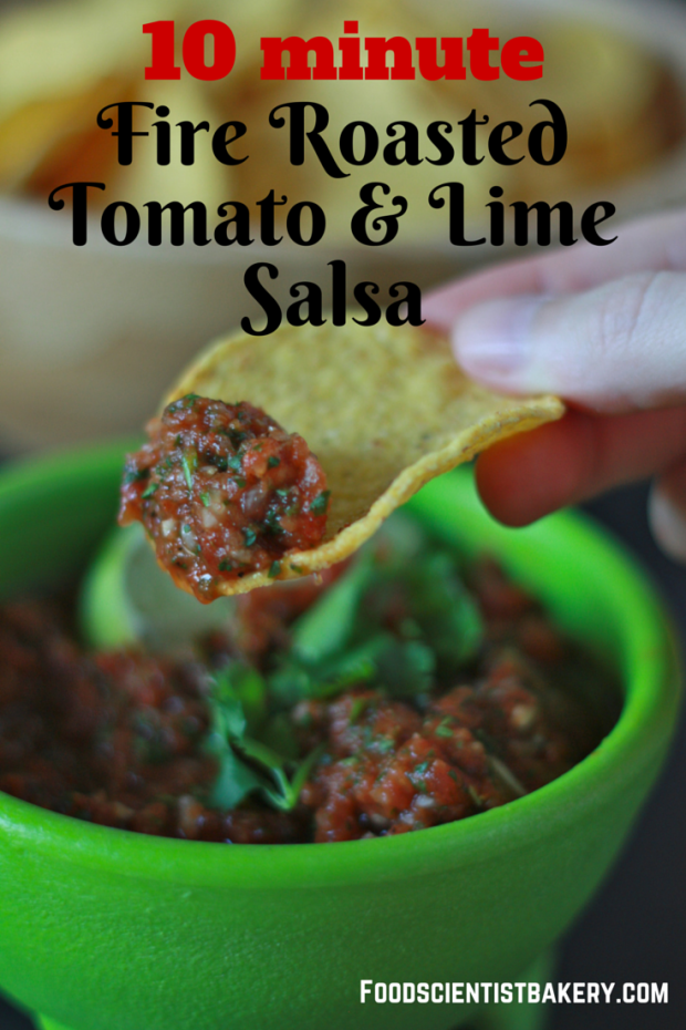 Homemade salsa is easier than you think! The flavor combo in this mild version are unbeatable!