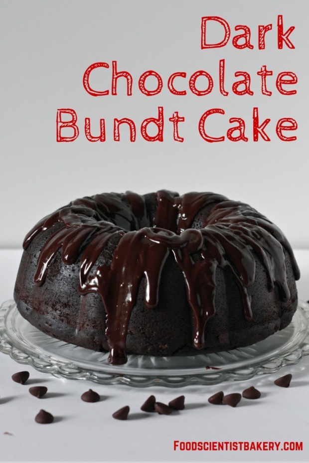 Dark Chocolate Bundt Cake- a massive cake for massive chocolate lovers!