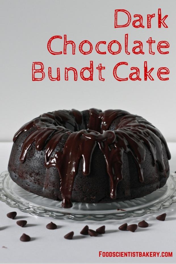 Dark Chocolate Bundt Cake- a massive cake for massive chocolate lovers!
