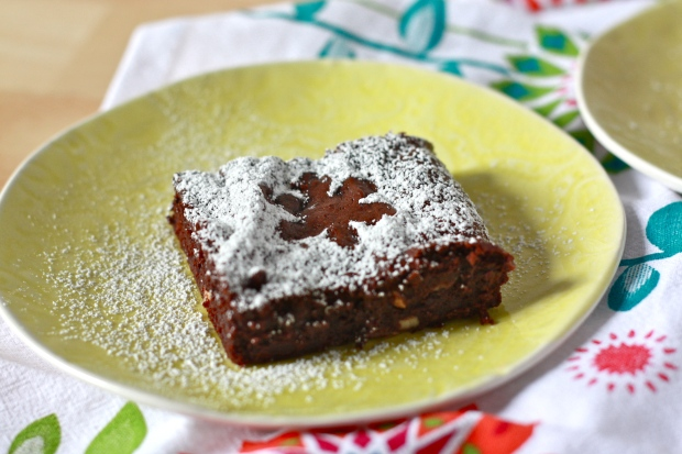 Fudgy, one-bowl brownies- the best way to satisfy your chocolate cravings!
