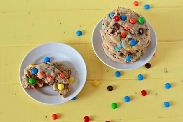 M&M Pudding Mix Cookies