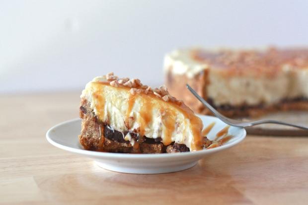 Caramel Toffee Cheesecake