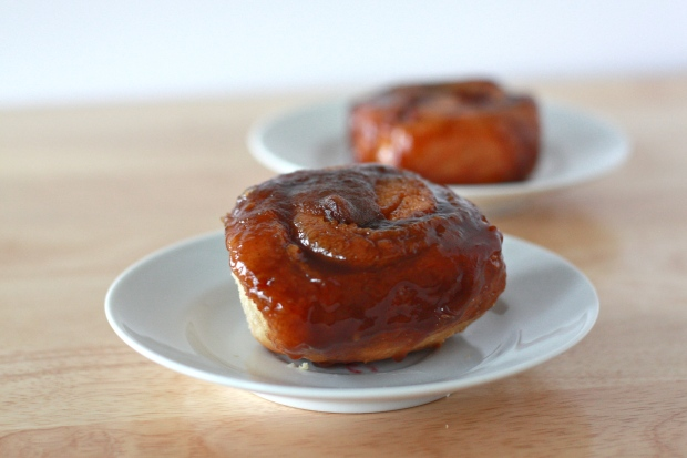 Caramel Rolls with Pumpkin Butter!