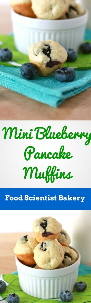 Mini Blueberry Pancake Muffins